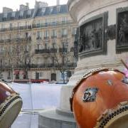Taiko place de la république Paris